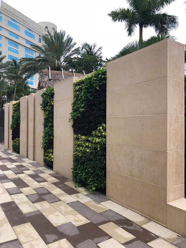 Seminole Hardrock Green Wall