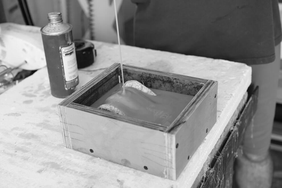 Pouring Rubber Mold