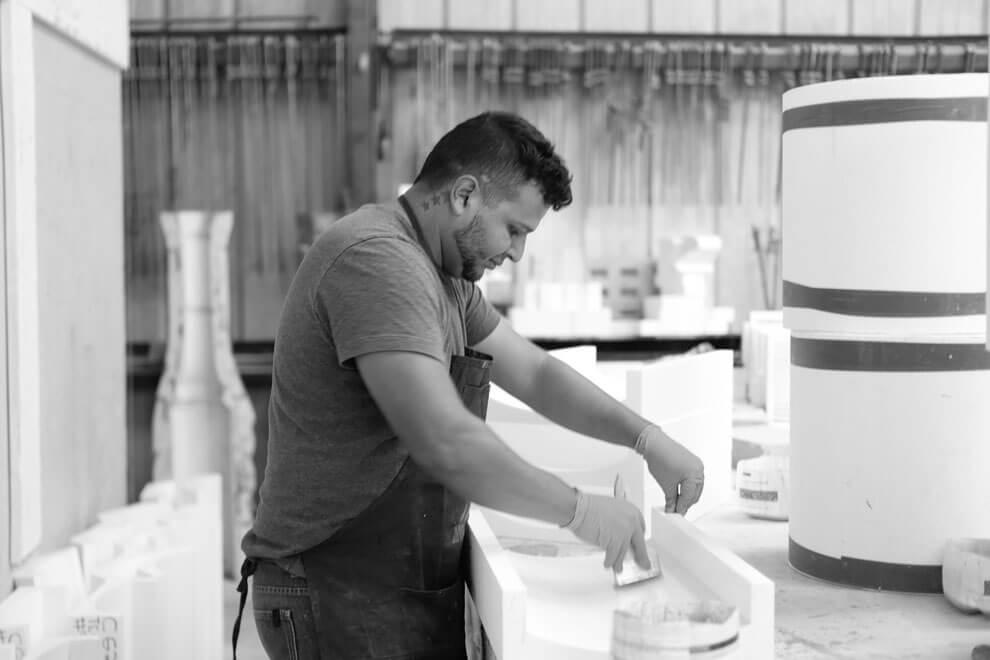 Preparing Foam Molds