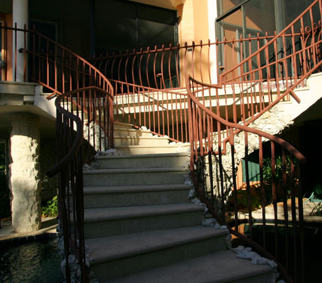 Gibson Residence Stair treads