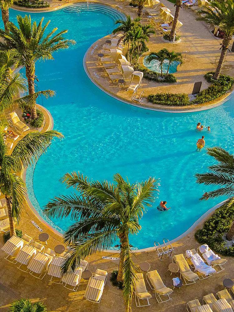 Sand Pearl Resort Pools